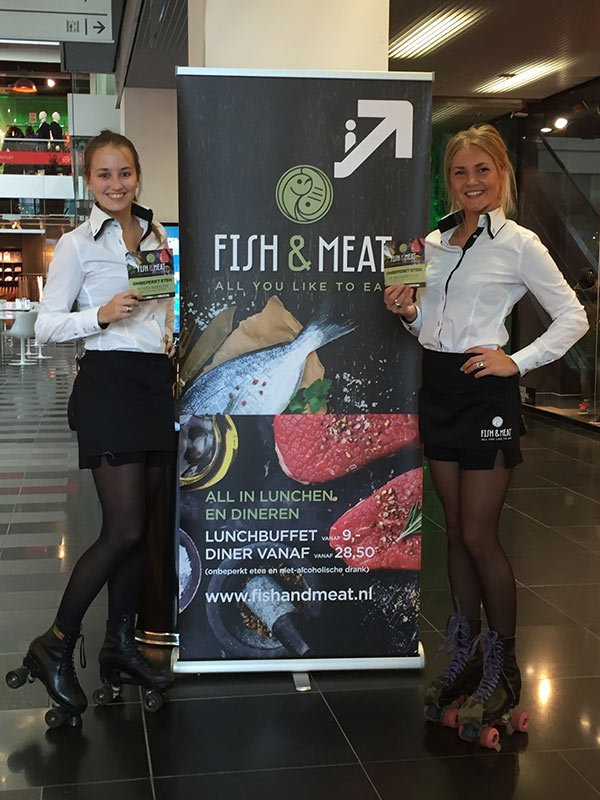 Fish & Meat event 2016 met GoodDay Hospitality Hostesses